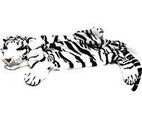 Мягкая игрушка коврик Тигр белый 130 см