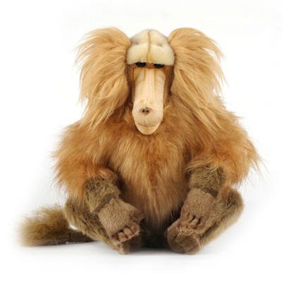 Мягкая игрушка обезьяна Гамадрил сидящий 30 см