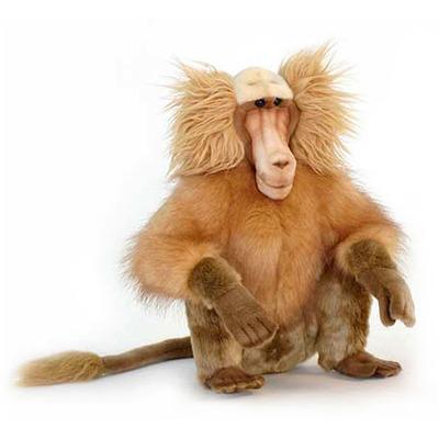 Мягкая игрушка обезьяна Гамадрил сидящий 43 см