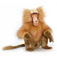 Игрушка обезьянка Гамадрил сидя 43 см