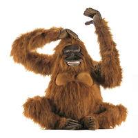 Игрушка обезьянка Орангутанг 100 см
