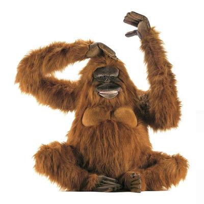 Мягкая игрушка обезьяна Орангутанг 80 см