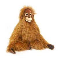 Игрушка обезьянка Орангутанг детеныш 34 см