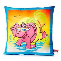 Мягкая игрушка подушка Слон 34 см