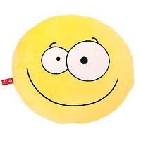 Мягкая игрушка подушка Смайлик 35 см
