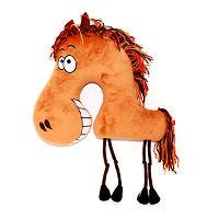 Мягкая игрушка подушка Весёлая лошадка 38 см