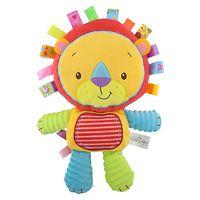 Мягкая игрушка-погремушка Львёнок