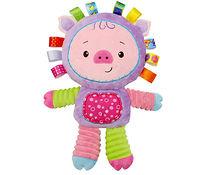 Мягкая игрушка-погремушка Поросёнок