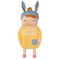 Мягкая игрушка-рюкзак Angela Yellow dress