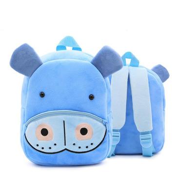 Мягкая игрушка-рюкзак Бегемот