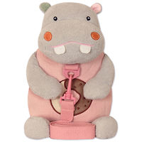 Мягкая игрушка-рюкзак Бегемот Сладкоежка