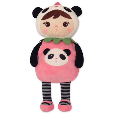 Мягкая игрушка-рюкзак Девочка Панда