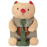 Мягкая игрушка-рюкзак Кот Обжора