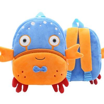 Мягкая игрушка-рюкзак Крабик