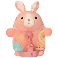 Мягкая игрушка-рюкзак Кролик Pink