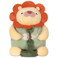 Мягкая игрушка-рюкзак Лев