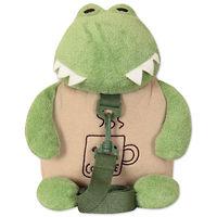 Мягкая игрушка-рюкзак Лягушонок