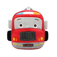 Мягкая игрушка-рюкзак Пожарная Машинка