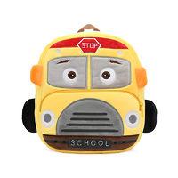 Мягкая игрушка-рюкзак Школьный автобус