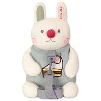 Мягкая игрушка-рюкзак Зайчик Сладкоежка