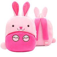Мягкая игрушка-рюкзак Зайка