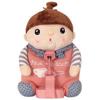 Мягкая игрушка-рюкзак пупс Сластена Pink