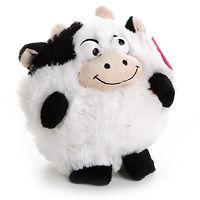 Мягкая интерактивная музыкальная игрушка Корова 18 см