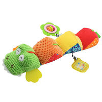 Мягкая развивающая игрушка Крокодил