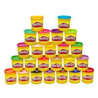 Набор пластилина из 24 банок Play Doh