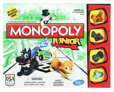 Настольная игра Hasbro Моя первая монополия