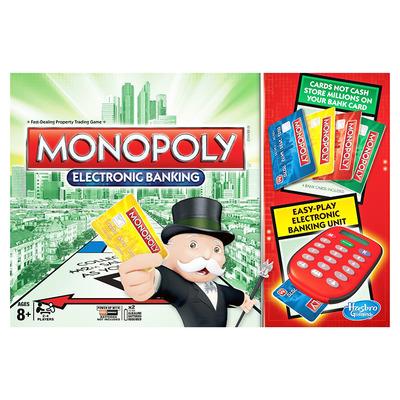 Настольная игра Монополия с банковскими картами (на русском языке) Hasbro