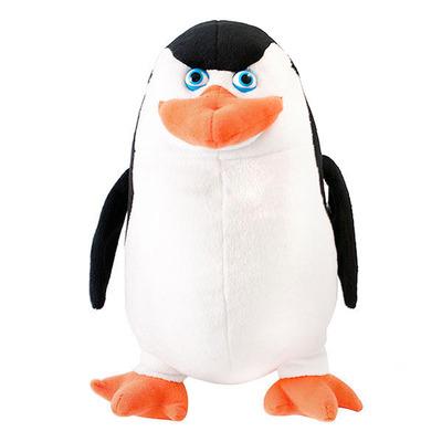 Пингвины из Мадагаскара - Мягкая игрушка пингвин Шкипер 24 см