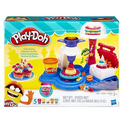 Плей До Сладкая Вечеринка – набор для лепки Play Doh Cake Party