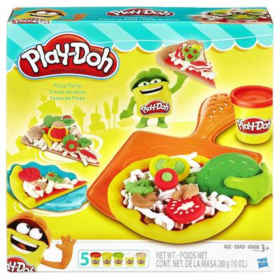 Плей До Пицца - игровой набор с пластилином