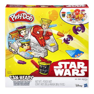 Плей До Star Wars Тысячелетний Сокол - игровой набор с пластилином