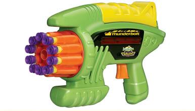 Помповое оружие Thunderbolt 10 Suction Dart