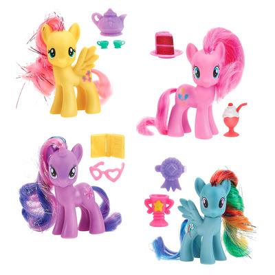 Пони My Little Pony с аксессуаром и сверкающей гривой Hasbro (4 вида)