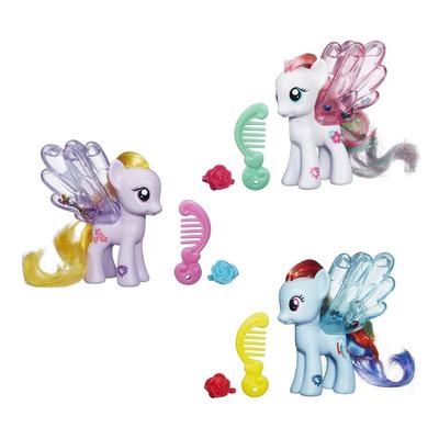Пони с блестками прозрачная My Little Pony