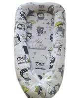 """Позиционер для новорожденных """"Joy"""" совы с зонтами"""
