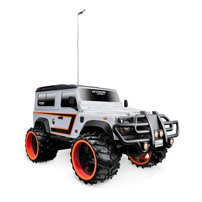 Игрушка Land Rover Defender (1:16) серебристый - радиоуправляемая модель