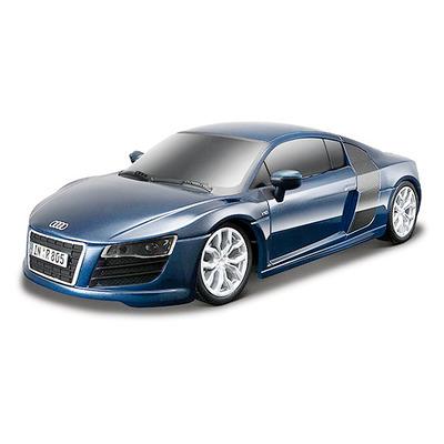Игрушка Audi R8 V10 2009 года (1:24) синий (81217) радиоуправляемая модель