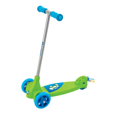Самокат Razor Kixi Scribble Al blue-green трехколесный детский