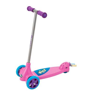 Самокат Razor Kixi Scribble Al pink-purple трехколесный детский