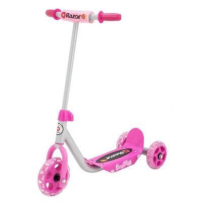 Самокат Razor Lil Kick розовый трехколесный детский