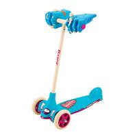 Самокат Razor Monster Kix Al blue трехколесный детский