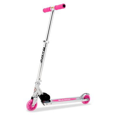 Самокат Razor Scooter A125 Al складной GC pink