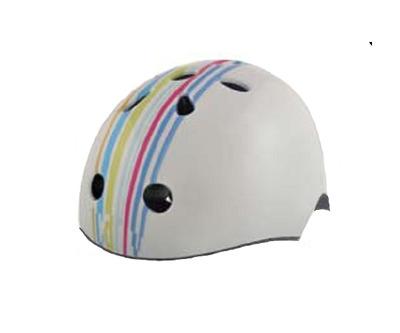 Шлем детский Bellelli Taglia белый с полосами размер М