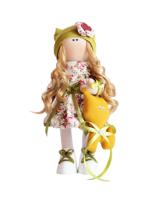 Текстильная Кукла ручной работы Алина