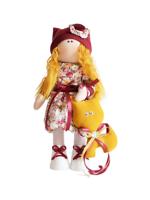 Текстильная Кукла ручной работы Анюта