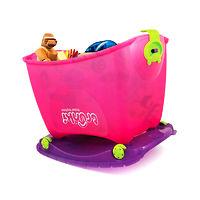 Ящик для игрушек Trunki Travel ToyBox (розовый)